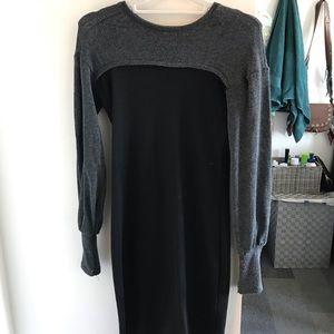 Zara black&gray dress